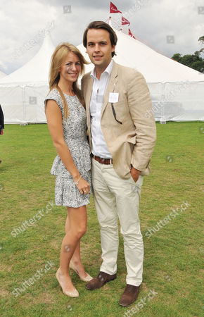 Cartier International Polo at Guards Polo Club Great Windsor Park Charlie Gilkes with His Girlfriend Anneke Von Trotha Taylor