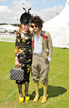 Cartier International Polo at Guards Polo Club Great Windsor Park Paloma Faith with Her Boyfriend Josh Weller