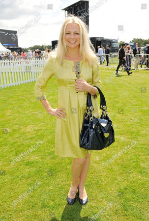 Stock Picture of Cartier International Polo at Guards Polo Club Great Windsor Park Hannah Sandling