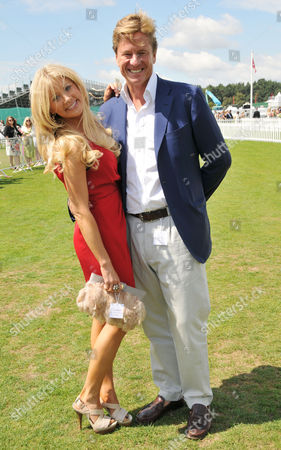 Cartier International Polo at Guards Polo Club Great Windsor Park Rob Hersov with His Wife Katie James