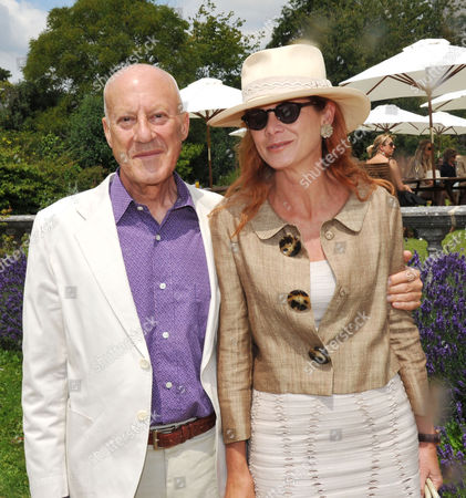 Cartier Style Et Luxe On the Lawn of Goodwood House During the Festival of Speed Lord Norman and Lady Elena Foster