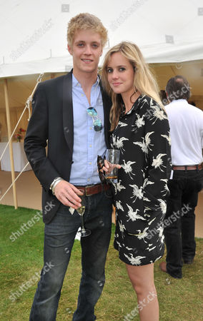 Cartier Style Et Luxe On the Lawn of Goodwood House During the Festival of Speed Rufus Tiger Taylor with His Sister Rory Eleanor Taylor