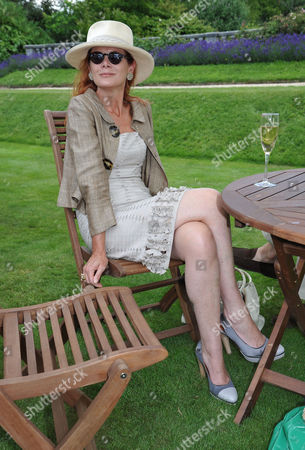 Cartier Style Et Luxe On the Lawn of Goodwood House During the Festival of Speed Lady Elena Foster