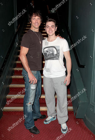 Cast Change For 'Dirty Dancing' at the Aldwych Theatre Johnny Wright (johnny) with Ray Quinn (billy)