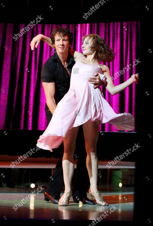Cast Change For 'Dirty Dancing' at the Aldwych Theatre Curtain Call - Johnny Wright and Hannah Vassallo
