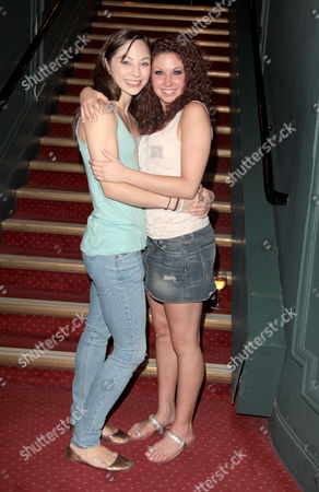 Stock Image of Cast Change For 'Dirty Dancing' at the Aldwych Theatre Hannah Vassallo and Charlie Bruce
