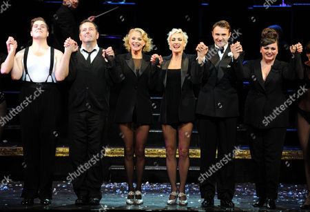 Cast Change in 'Chicago' at the Cambridge Theatre 7 Dials Convent Garden London David Page Christie Brinkley & Amra-faye Wright Jonathan Wlikes & Jasna Ivir