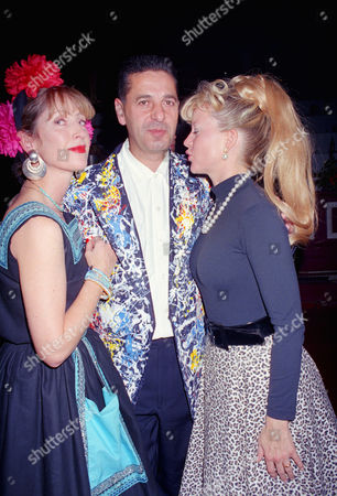 Chelsea Arts Ball at the Royal Albert Hall Charles Saatchi with His Wife Kay Saatchi