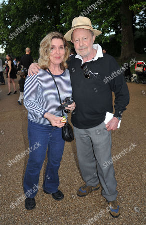 Chucs 'Take A Dip' in the Serpentine in Aid of 'Charity Water' Hosted by Chucs Dive and Mountain Shop Nicolas Roeg with His Wife Harriet Harper