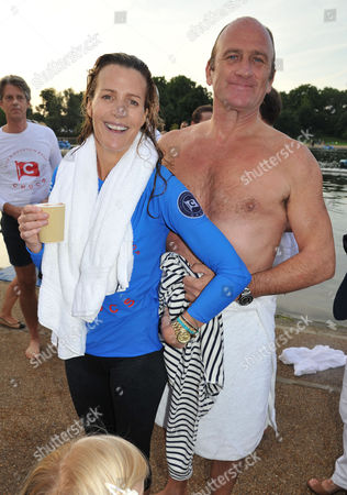 Chucs 'Take A Dip' in the Serpentine in Aid of 'Charity Water' Hosted by Chucs Dive and Mountain Shop India Hicks and David Flintwood