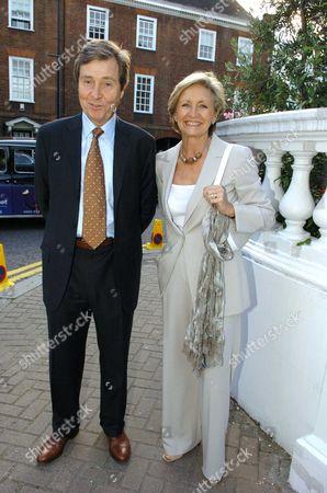 Sue Lawley with Her Husband Hugh Williams