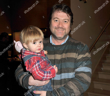 Disney's 'Tangled' Celebrity Premiere at the Mayfair Hotel Derek Draper with His Son William 'Billy'