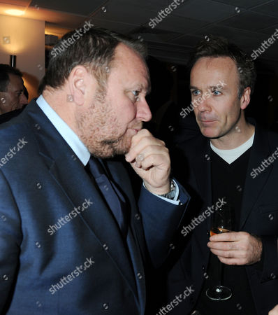 Evening Standard 1000 Most Influential People Reception at the Millbank Tower Gary Farrow and Marcus Wareing