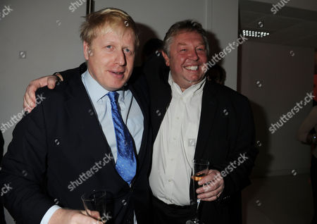 Evening Standard 1000 Most Influential People Reception at the Millbank Tower Boris Johnson and Gary Farrow