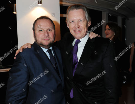 Evening Standard 1000 Most Influential People Reception at the Millbank Tower Gary Farrow and John Stephen