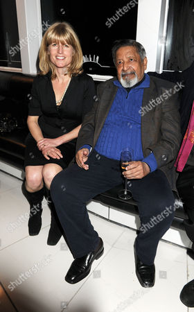 Evening Standard 1000 Most Influential People Reception at the Millbank Tower Rachel Johnson and V S Naipaul