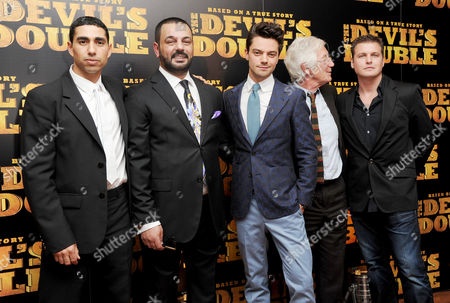 Editorial image of European Premiere of 'The Devil's Double' at the Vue, Leicester Square - 01 Aug 2011