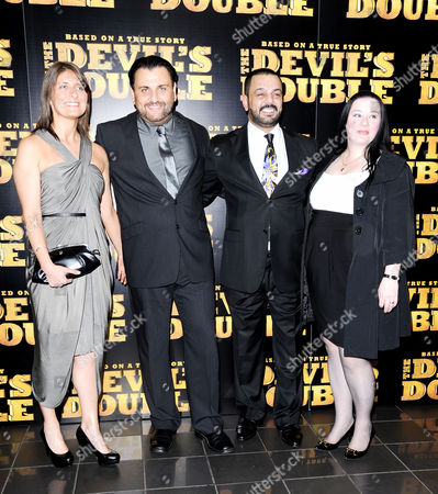 Stock Picture of European Premiere of 'The Devil's Double' at the Vue Leicester Square Latif Yahia