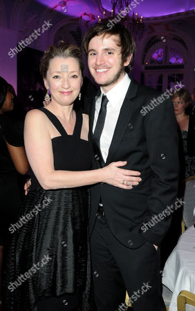 Evening Standard Theatre Awards 2010 at the Savoy Hotel Lesley Manville and Michael Goldsmith