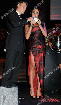 F1 Party at the Natural History Museum in Aid of Great Ormond Street Hospital For Children Jake Humphries and Tamara Ecclestone