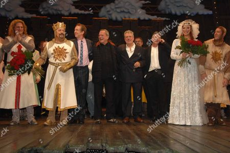 Tim Curry Eric Idle Terry Gilliam Michael Palin Terry Jones and Hannah Waddington