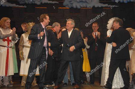 Eric Idle Terry Gilliam Michael Palin Terry Jones & Hannah Waddington