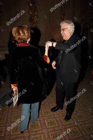 Stock Picture of First Night Party For 'The Crucible' at Le Meridian Piccadilly Bill Kenwright and Angela Douglas