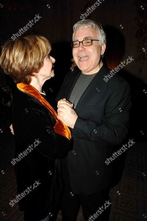 First Night Party For 'The Crucible' at Le Meridian Piccadilly Bill Kenwright and Angela Douglas