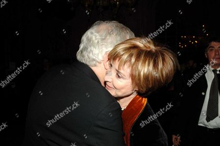 Stock Photo of First Night Party For 'The Crucible' at Le Meridian Piccadilly Bill Kenwright and Angela Douglas