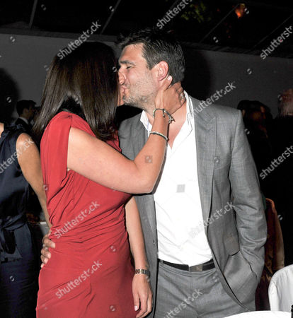 Glamour Awards 2011 Awards and Afterparty in Berkeley Square Gardens Davina Mccall with Her Husband Matthew Robertson