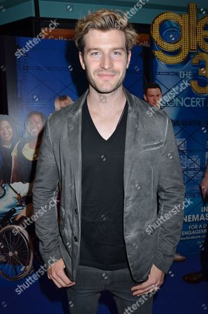 Stock Picture of Glee the 3d Concert Movie Gala Screening at the Vue West End Leicester Square London Lord Robert Walters