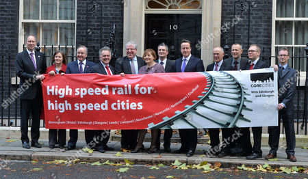Editorial picture of High Speed Rail For High Speed Cities Photocall - 21 Nov 2013