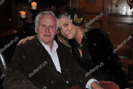 House of Slamming Doors Book Launch at the Gore Hotel Queens Gate London John Boorman with His Daughter Katrine Boorman