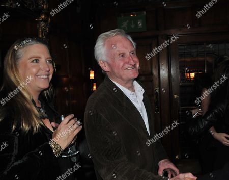 House of Slamming Doors Book Launch at the Gore Hotel Queens Gate London Katrine Boorman with Her Father John Boorman
