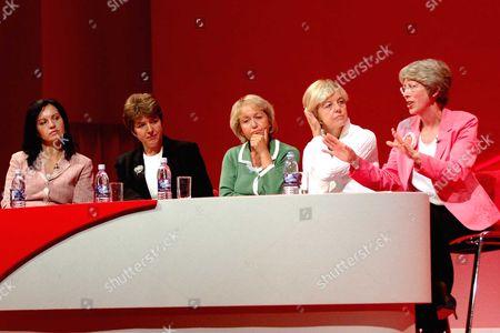 The 2005 Labour Party Conference Brighton - Health Debate Caroline Flint Jane Kennedy Rosie Winterton the Debate Chairman and Patricia Hewitt