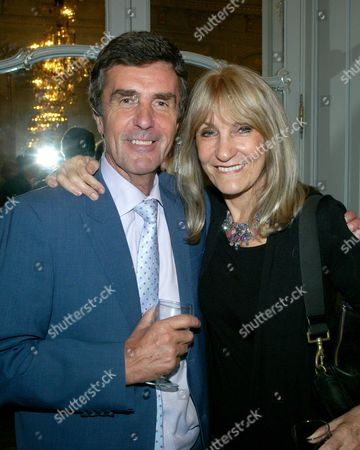 Lett's Rip! Inside the Parliament of Fools' Book Launch at the Savile Club Brook Street Mayfair London John Stapleton with His Wife Lynn Faulds Wood