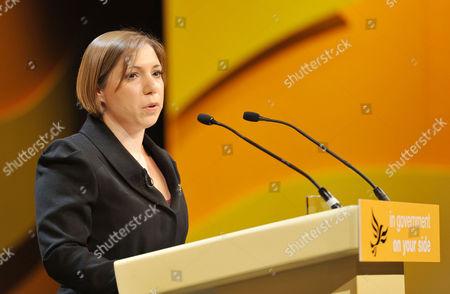 Liberal Democrats Autumn Conference 2011 at the Icc Birmingham - Sunday Morning Sarah Teather Mp