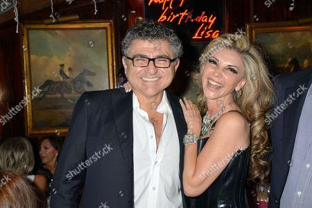 Lisa Tchenguiz 48th Birthday Party at Annabel's Vincent Tchenguiz with His Sister Lisa Tchenguiz