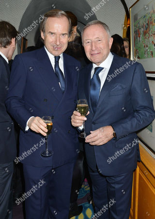 48th Birthday Party at Annabel's Mayfair Simon De Pury and Laurence Graff
