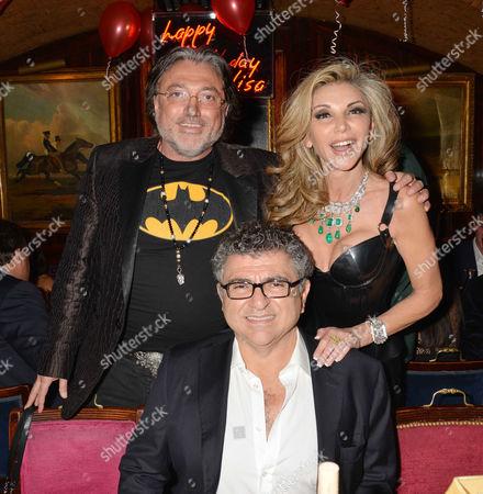 Lisa Tchenguiz 48th Birthday Party at Annabel's Robert Tchenguiz Lisa Tchenguiz and Vincent Tchenguiz