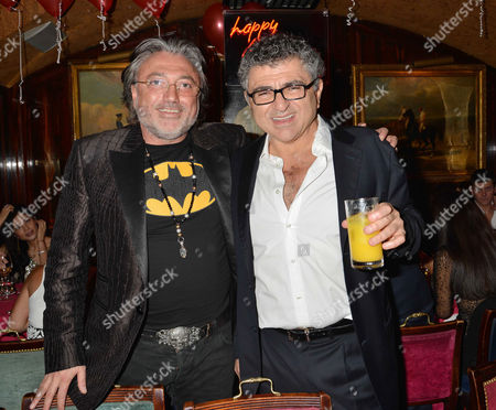 48th Birthday Party at Annabel's Robert Tchenguiz with His Brother Vincent Tchenguiz
