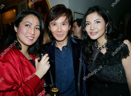 47th Birthday Party at Annabel's Berkeley Square Andy and Patti Wong with Elaine Zhang