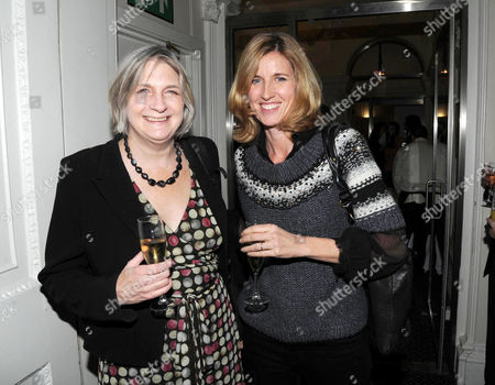 Literary Review Bad Sex in Fiction Award 2010 at the in & out Club Mayfair Lady Anne Somerset & Arabella Macmillan