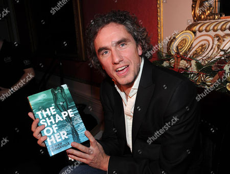 Literary Review Bad Sex in Fiction Award 2010 at the in & out Club Mayfair Winner Rowan Somerville with His Book 'The Shape of Her'