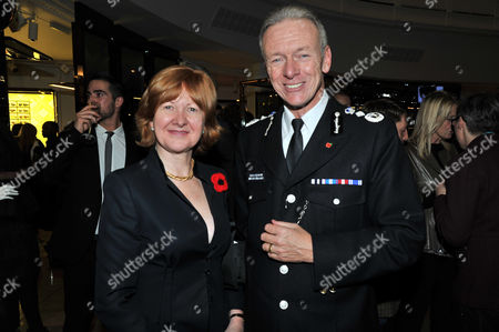 the Power 1000 2012 - Evening Standard's 1000 Most Influential People at Burberry Flagship Store Regent Street Baroness Victoria Borwick and Police Commissioner Bernard Hogan-howe