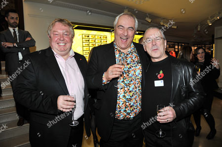Stock Image of the Power 1000 2012 - Evening Standard's 1000 Most Influential People at Burberry Flagship Store Regent Street Nick Ferrari Mark Constantine and Peter Hendy ( Commissioner of Transport)