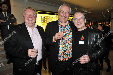 the Power 1000 2012 - Evening Standard's 1000 Most Influential People at Burberry Flagship Store Regent Street Nick Ferrari Mark Constantine and Peter Hendy ( Commissioner of Transport)