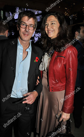 the Power 1000 2012 - Evening Standard's 1000 Most Influential People at Burberry Flagship Store Regent Street Jennifer Hall and Her Husband Glenn Wilhide