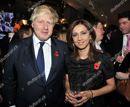 the Power 1000 2012 - Evening Standard's 1000 Most Influential People at Burberry Flagship Store Regent Street Boris Johnson Mayor of London and Riz Lateef