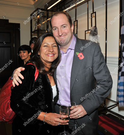 the Power 1000 2012 - Evening Standard's 1000 Most Influential People at Burberry Flagship Store Regent Street Guto Harri and Guest